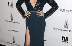 Paz Vega deslumbra con su nuevo look 'pixie' en los Globos de Oro