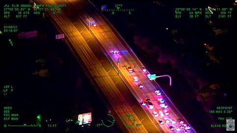 Un policía muere en EEUU para salvar la vida a varios conductores en un accidente