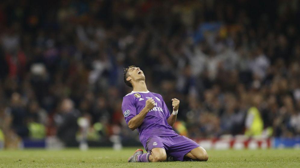 Foto: Cristiano Ronaldo, celebrando el final de la pasada Champions. (Reuters)