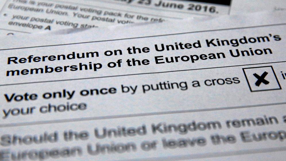 Foto: Ilustración de una papeleta (Reuters)