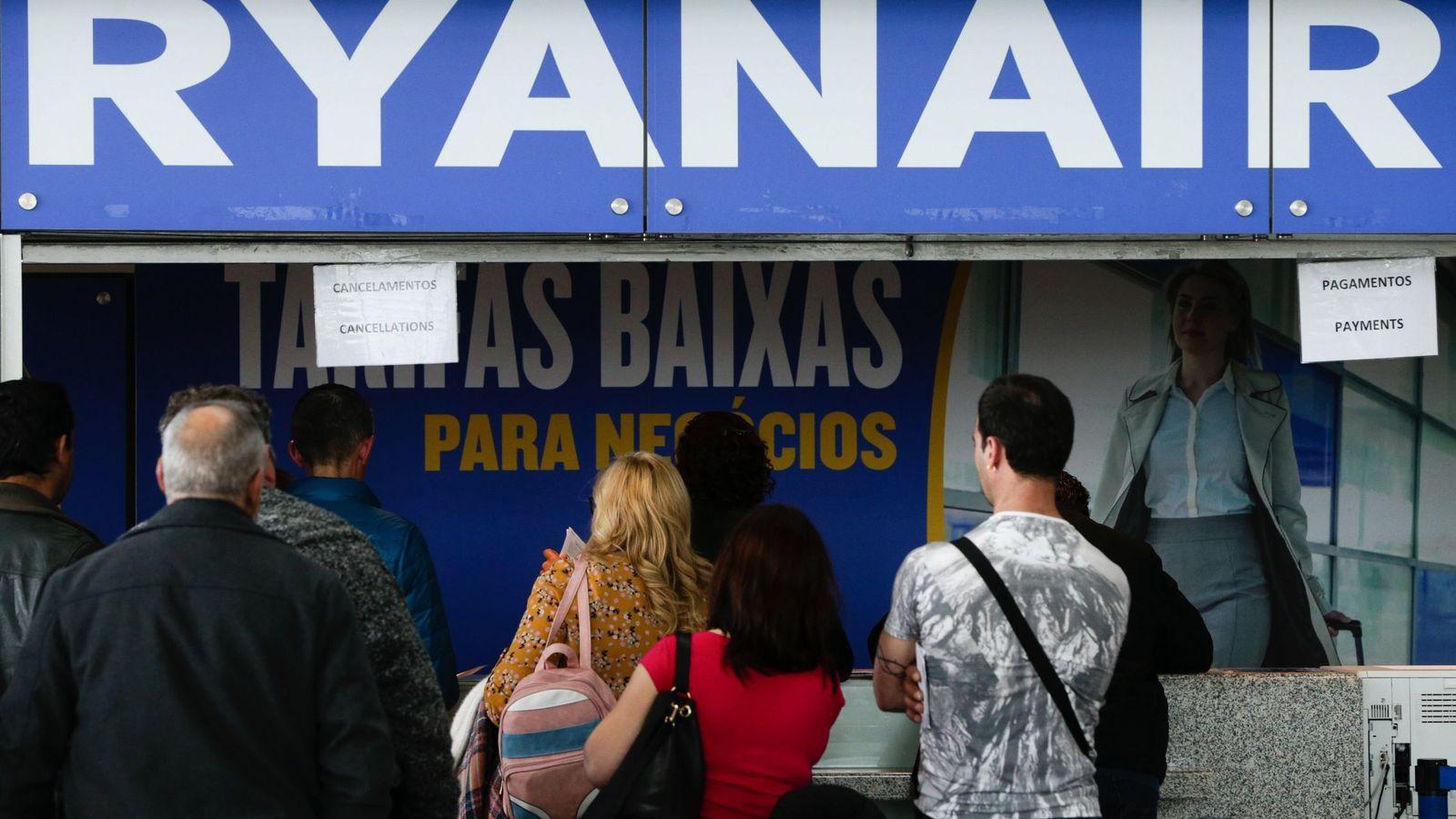 Foto: El pasado mes de abril ya hubo huelga en Ryanair Portugal. (EFE)