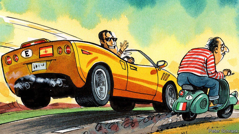 Ilustración del artículo de 'The Economist'. (Peter Schank)