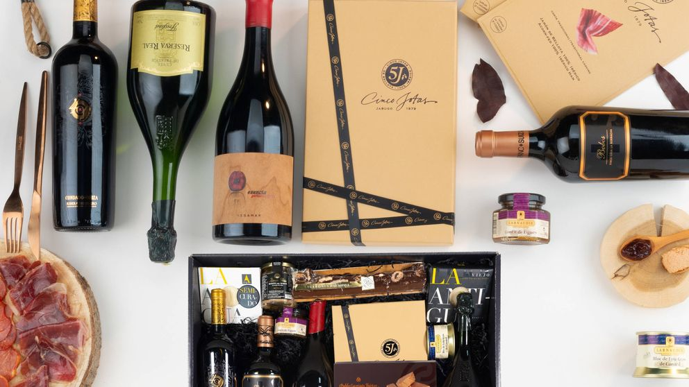 Las nuevas cestas de Navidad: solo han sobrevivido el turrón y los vinos