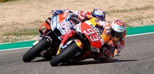 Post de La victoria ma´s que ajustada de Marc Márquez sobre Dovizioso