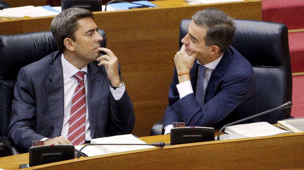 Foto: Vicente Rambla y Ricardo Costa, en 2009 en las Cortes Valencianas. (EFE)