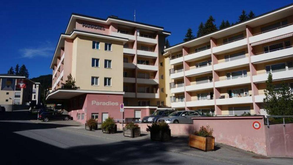 Foto: El hotel Paradies Arosa, en una foto promocional en su página web