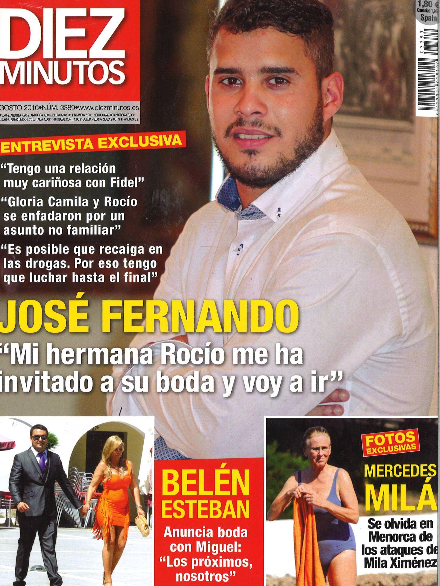 José Fernando en la revista 'Semana'