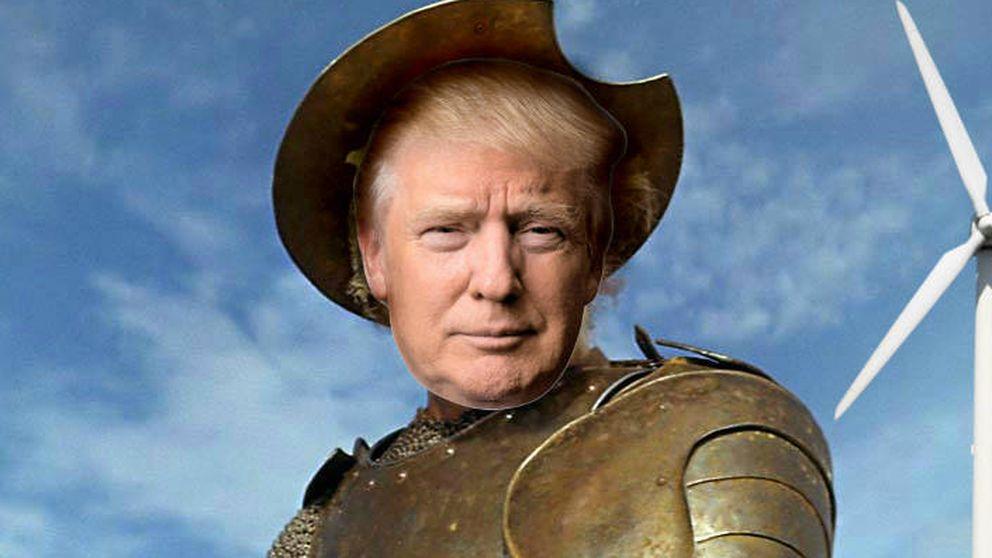 Donald Trump arremete contra los molinos de viento: Son como un campo de muerte
