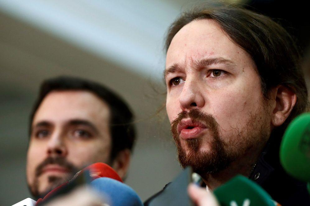 Foto: Pablo Iglesias y Alberto Garzón en una imagen de archivo. (EFE)
