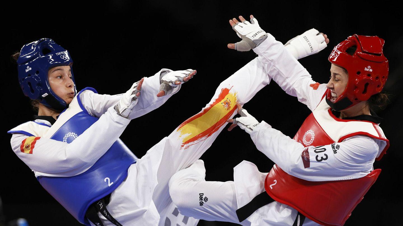 Adriana Cerezo, en las semifinales de los Juegos Olímpicos. (Reuters)