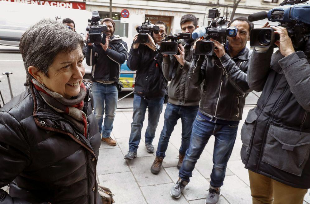 Foto: Teresa Cunillera, el 26 de enero de 2017, cuando se integró en la gestora del PSOE. (EFE)