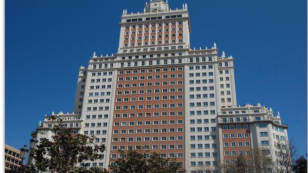 Foto: Edificio España, en Madrid (Flickr/.Robert.)