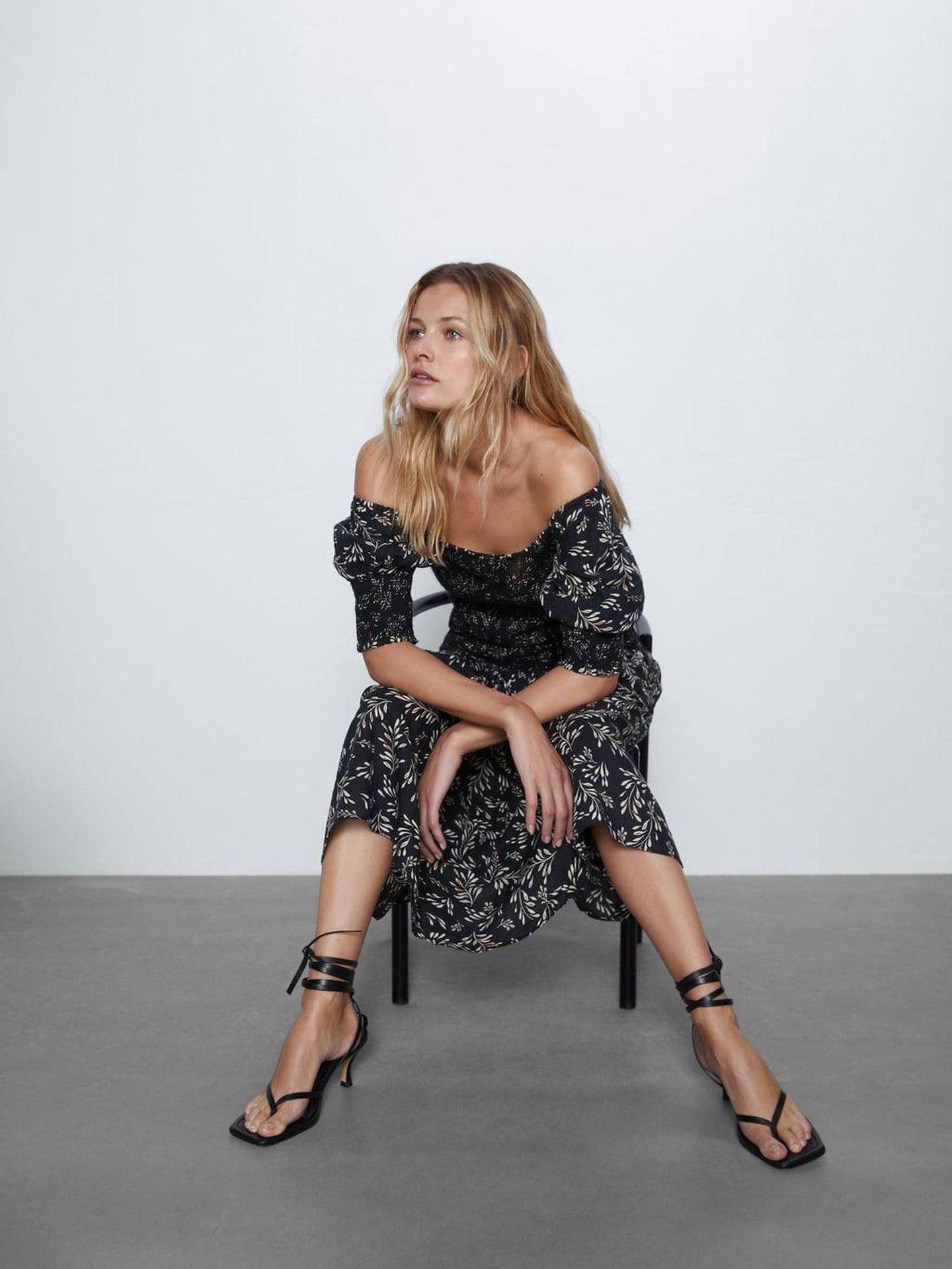 Este vestido de Zara tiene truco. (Cortesía)