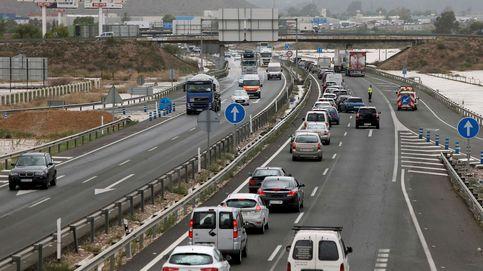 Dos muertos en un accidente provocado por un kamikaze en la A-7 en Alicante
