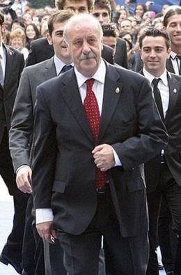 Foto: Del Bosque será el Balón de Oro de los entrenadores, según la Gazzetta