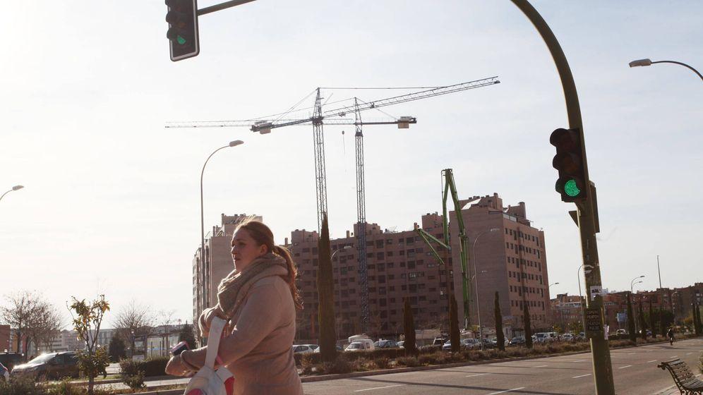 Foto: Obras en una ciudad española.