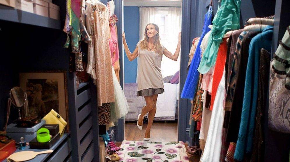 Foto: El armario excesivo ya no está de moda. (Imagen: Sexo en Nueva York)