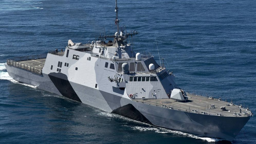 Foto: USS Freedom. (Wikipedia/James R. Evans)
