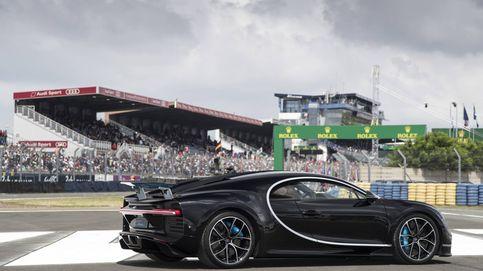 Bugatti estrena el espectacular Chiron en las 24 Horas de Le Mans