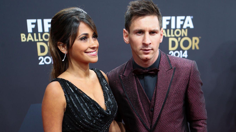 Foto: Antonella Rocuzzo junto a su pareja, Leo Messi, en una imagen de archivo (Gtres)