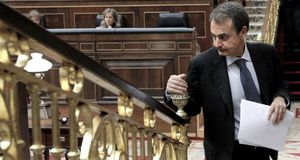Zapatero dice que España crecería ahora en la media de la UE de no ser por la construcción