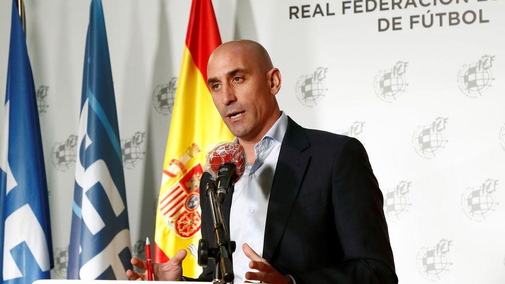 Luis Rubiales, investigado por presunta falsificación de documento público