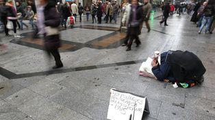 La pobreza cae en España