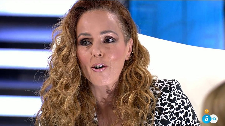 Rocío Carrasco, durante su última entrevista'. (Mediaset)