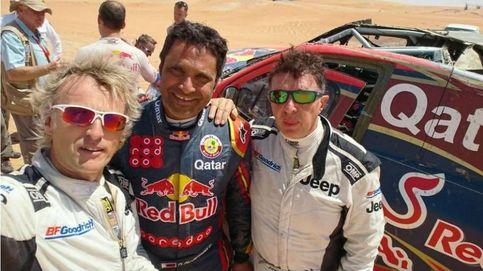 Jesús Calleja: Me ha costado un huevo y parte del otro poder correr el Dakar