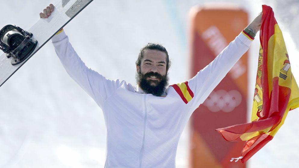 Regino Hernández, medalla de bronce en snowboard cross de los JJOO