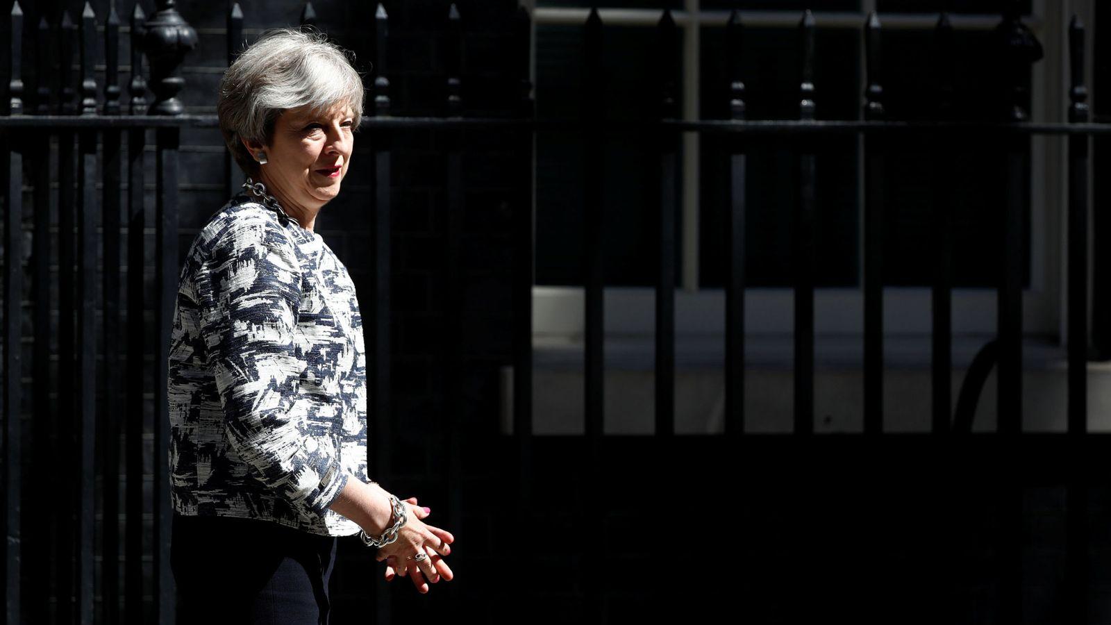 Foto: Theresa May llega a un acuerdo con los unionistas del DUP para gobernar en minoría. (Reuters)