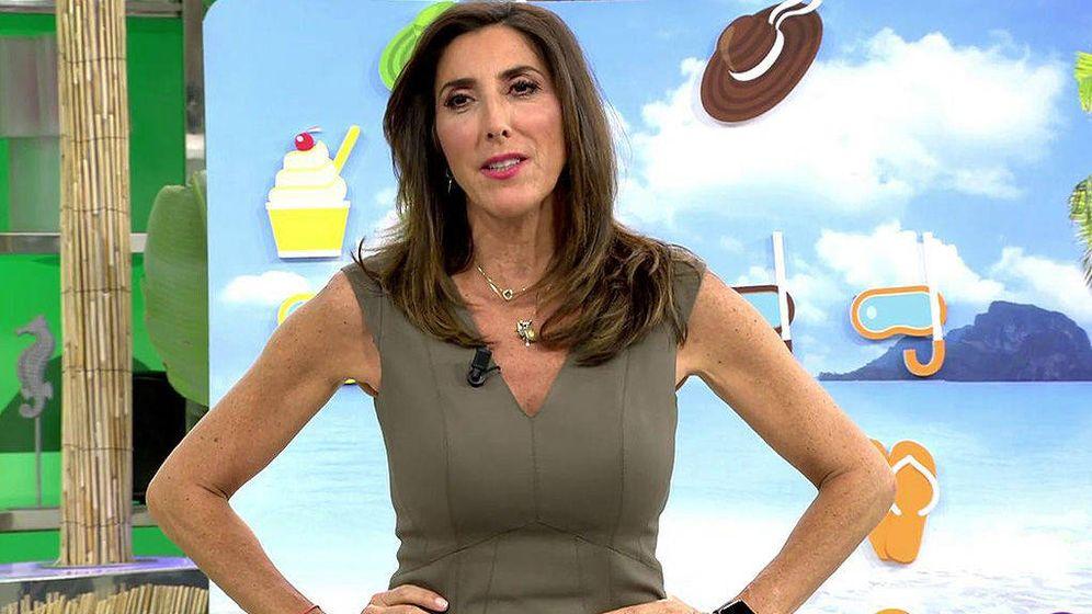 Foto: Paz Padilla, en el programa 'Sálvame'. (Mediaset España)