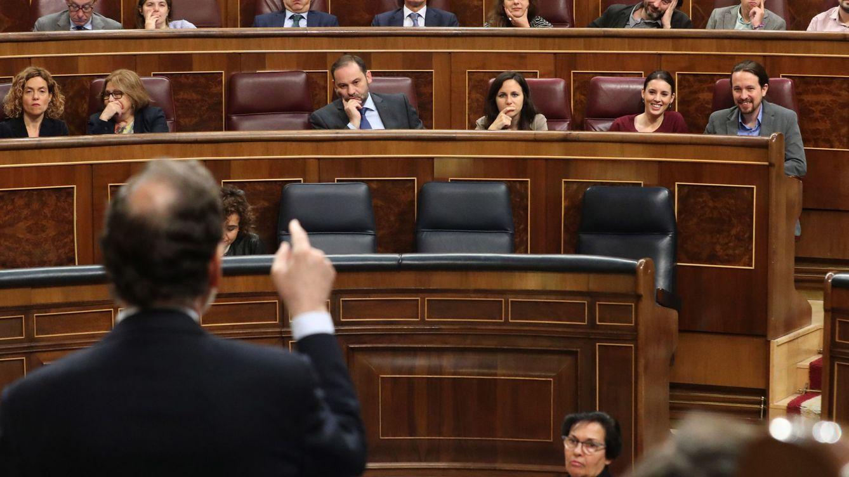 Rajoy planea ningunear a Iglesias en su moción a la espera de la actitud del PSOE