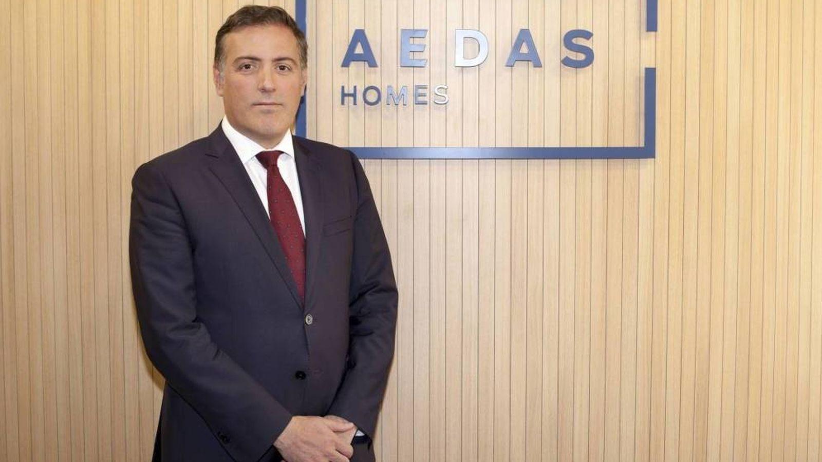 Foto: David Martínez, consejero delegado de Aedas Homes.