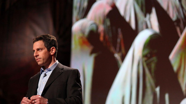 Foto: Sam Harris en 2010, durante su charla en Ted.