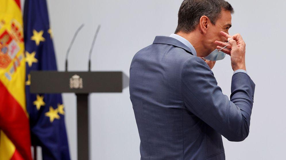 Foto: Sánchez no ha sufrido apenas desgaste por la gestión del covid, según el CIS. (EFE)
