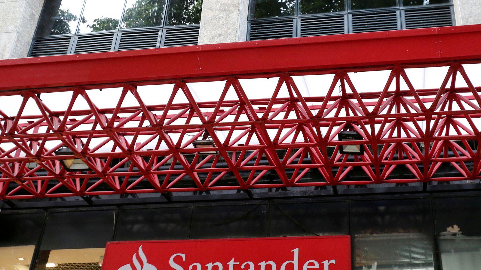 Foto: Oficina de Banco Santander.