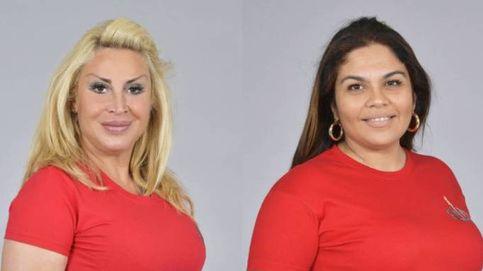 Las aparatosas caídas de Raquel Mosquera y Saray en el estreno de 'SV'