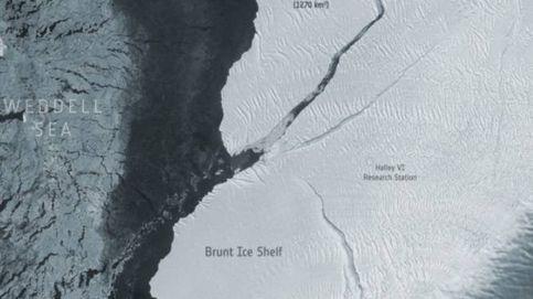 Se desprende de la Antártida un iceberg que duplica el tamaño de Madrid