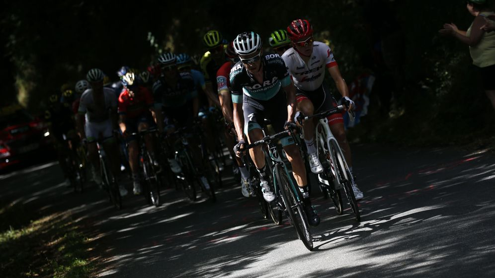 Foto: El pelotón durante la 15ª etapa del Tour de Francia. (EFE)