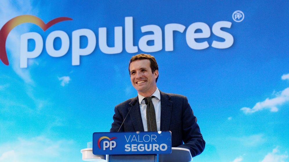 Foto: El líder del PP y candidato a la Presidencia del Gobierno, Pablo Casado. (EFE)