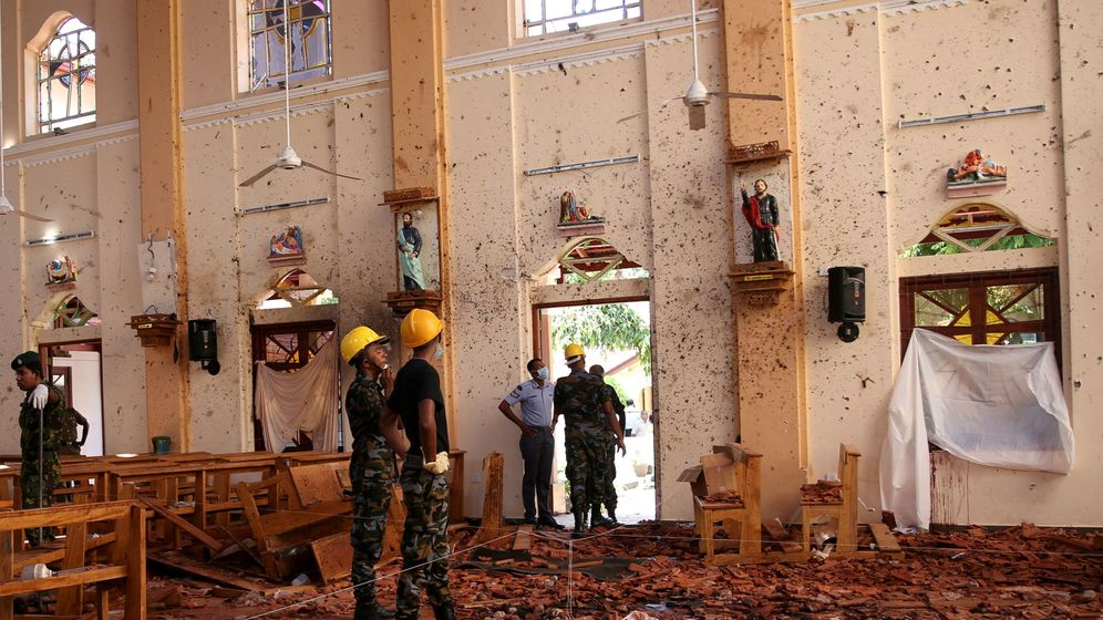 Foto: Una de las iglesias atacadas en Sri Lanka. (Reuters)