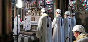 Post de La precariedad domina la primera misa en la catedral de Notre Dame tras el incendio