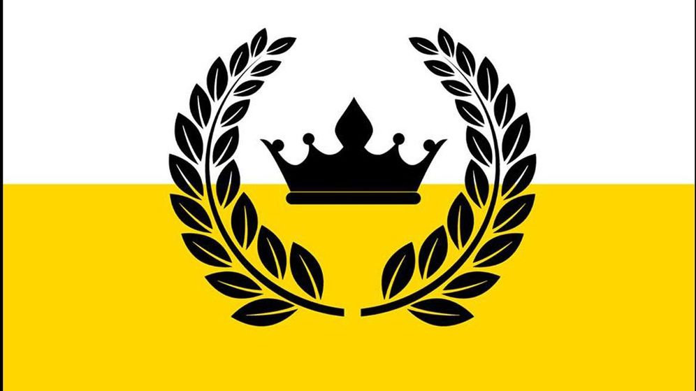 Foto: Bandera de la micronación Reino de Enclava