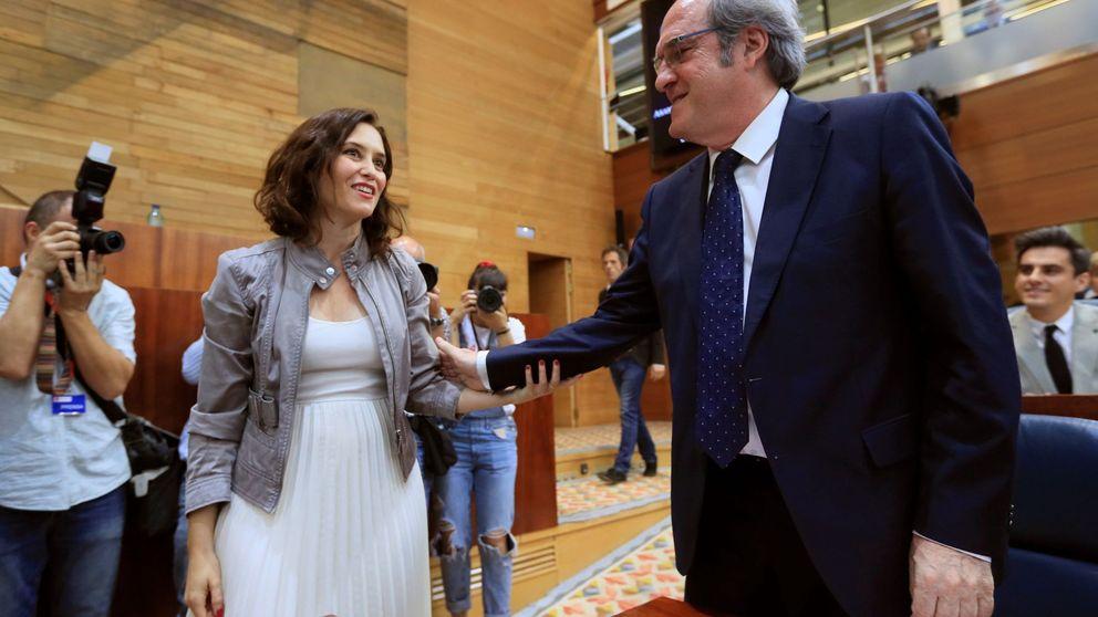 Ciudadanos logra el apoyo de PP y Vox y se hace con la presidencia de la Asamblea