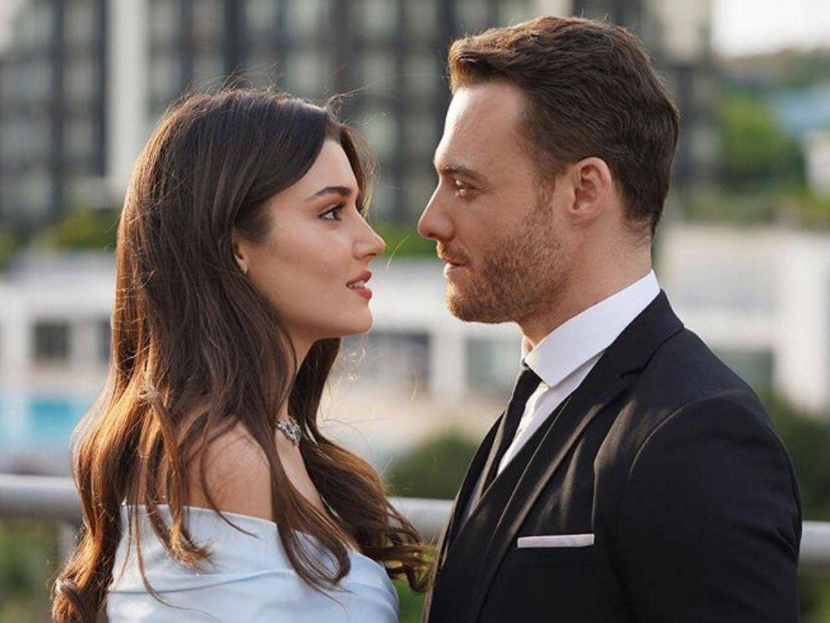 Foto: Los protagonistas de 'Love is in the air'. (Telecinco)