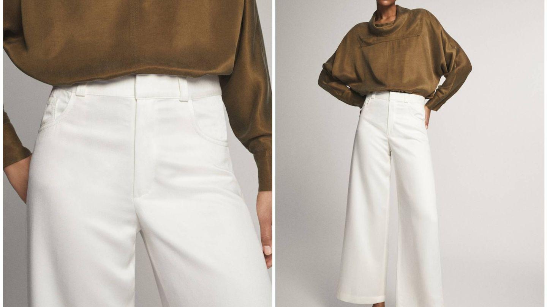 Nuevo pantalón de Massimo Dutti. (Cortesía)