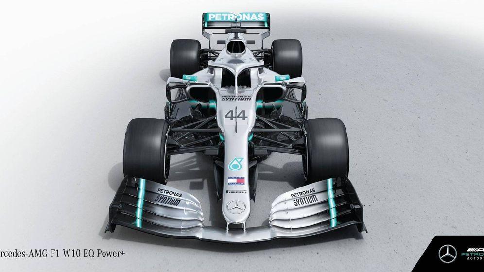 Foto: El nuevo Mercedes de Fórmula 1 en 2019 al que todos temen: W10
