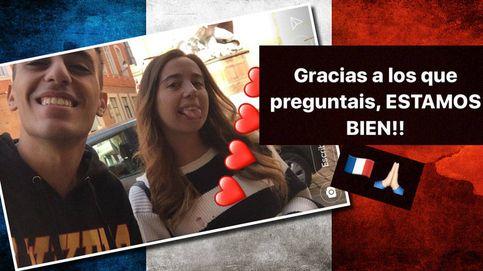 """Andreíta: """"Por suerte no estábamos en la zona de Toulouse atacada"""""""