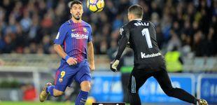 Post de Luis Suárez alumbra la remontada de un Barcelona que se olvida de sus fantasmas